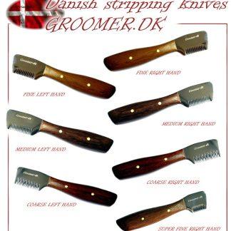 Groomer.dk - Trim-Werkzeug - Classic Danish Knife