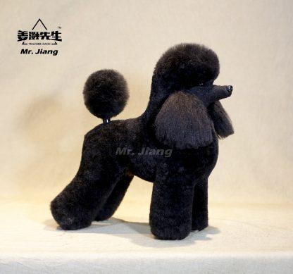 Pudel Fell schwarz
