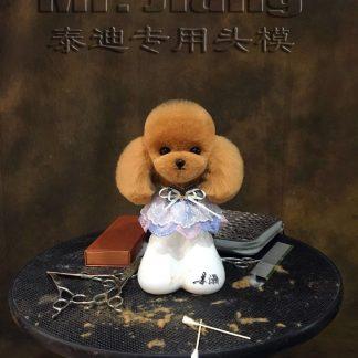 Teddy Kopf Fell rot