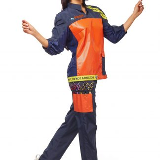 Arbeitskleidung für Hundefriseure - Model Penelope
